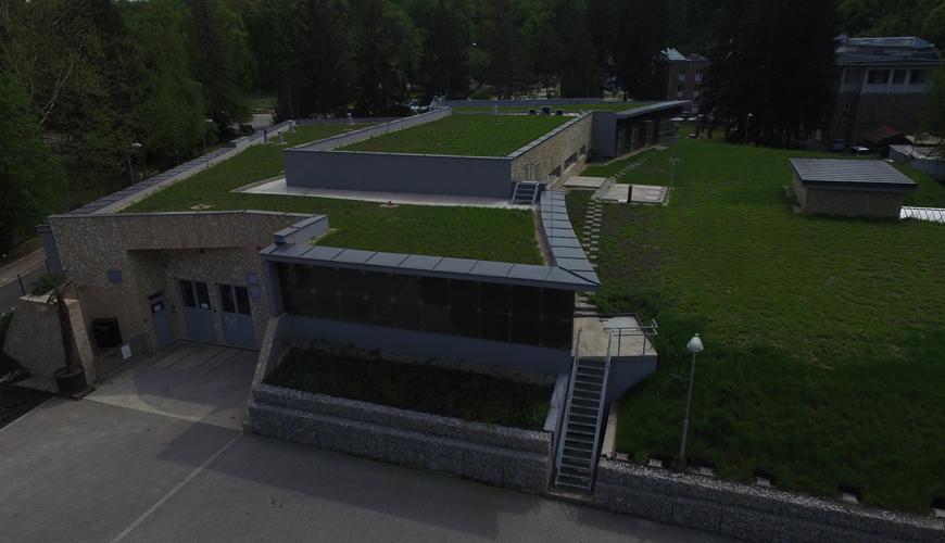 Drinking water treatment using ultrafiltration technology in Miskolc