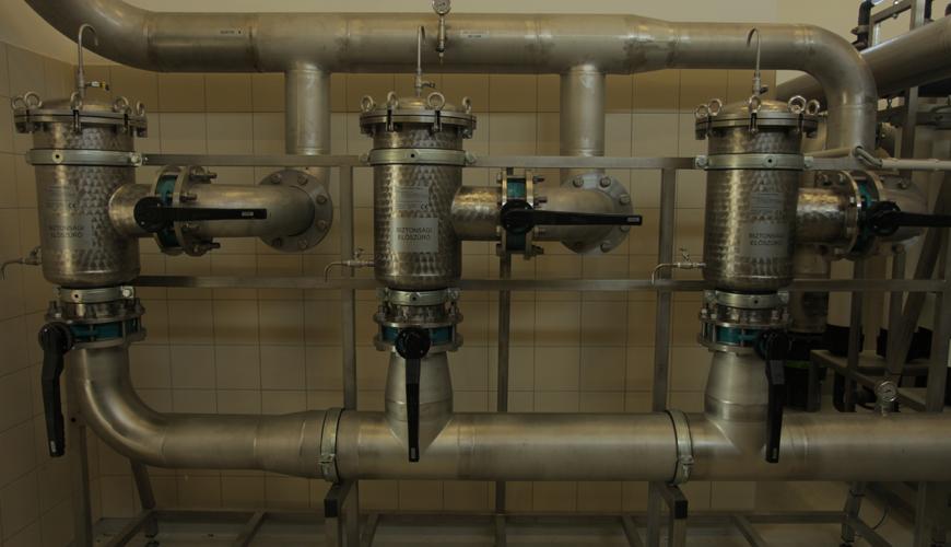 Drinking water treatment in Zalaegerszeg